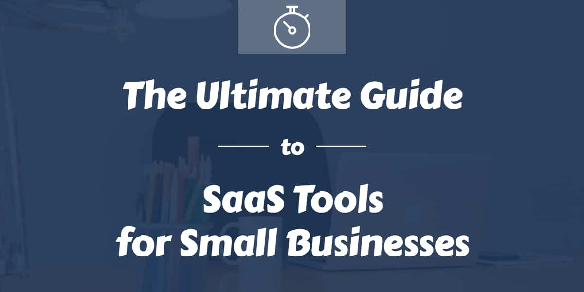 SaaS tools for small business