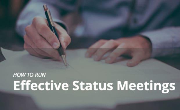 effective status meetings