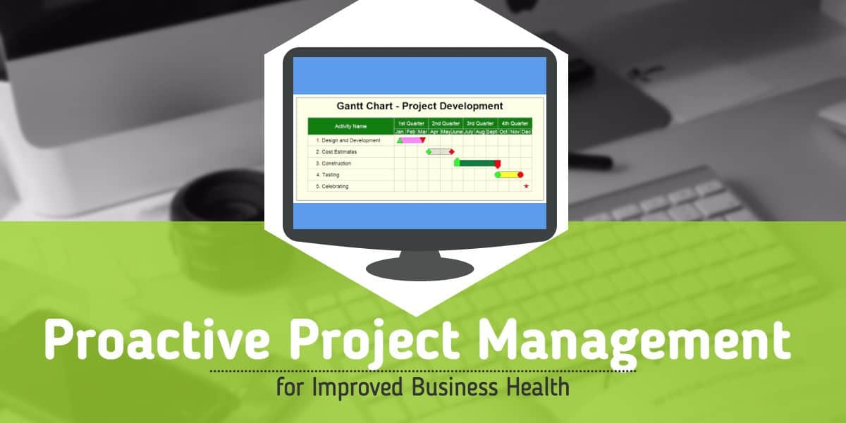 Proactive Project Management for Improved Business Health