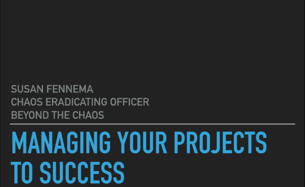 managing your projects to success
