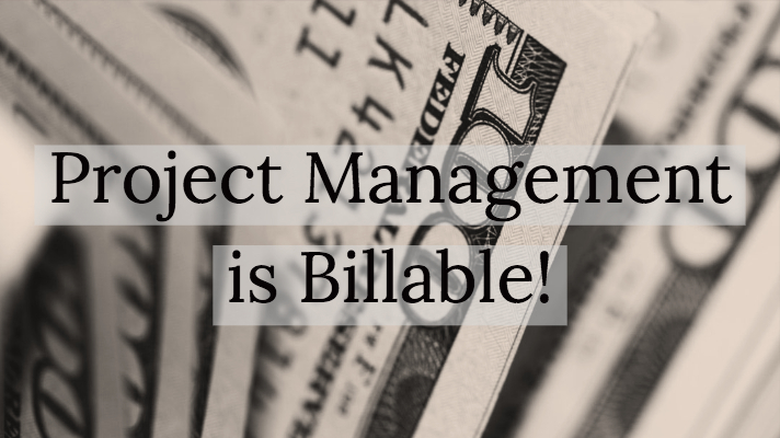 project management is billable