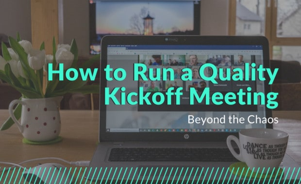 7 tips to run a kickoff meeting