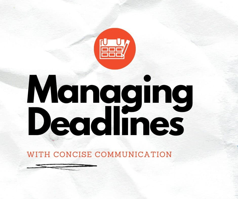 managing deadlines